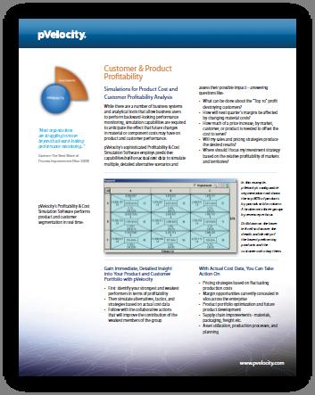pVelocity Customer & Product Profitability PDF