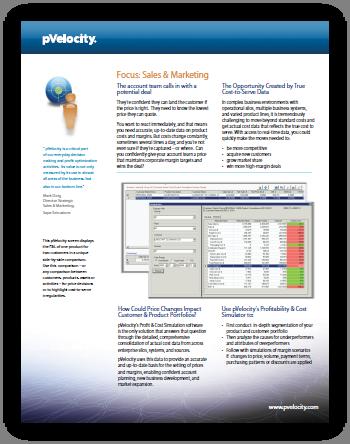 pVelocity Focus Sales & Marketing PDF
