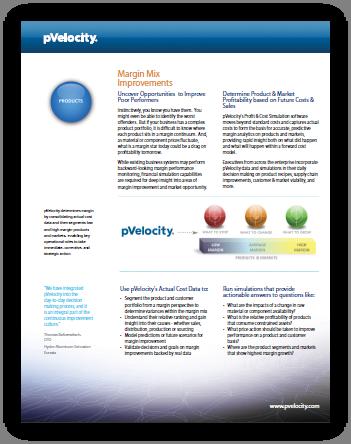 pVelocity Margin Mix PDF